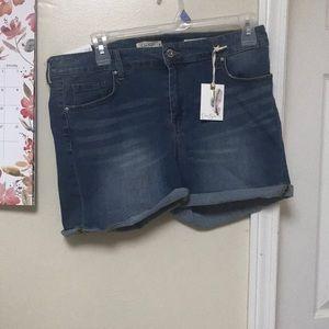 Jessica Simpson Size 18 W Denim Shorts